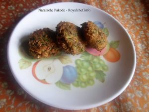 Coconut Pakoras