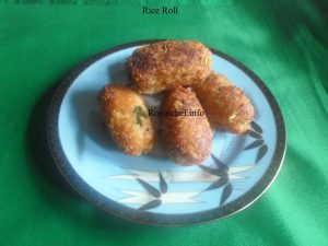 Crispy Rice Roll Pakode