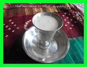 Barnyard Millet Ki Kheer
