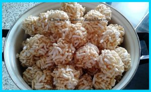 Puffed Rice Ladoo