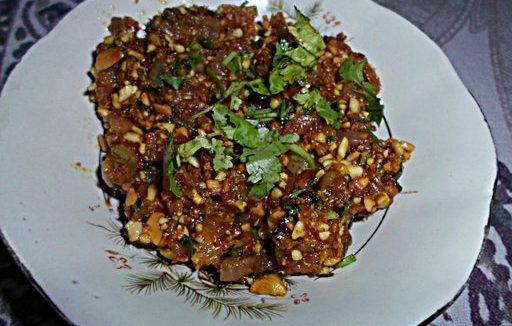 Maharashtrian Peanuts Chutney