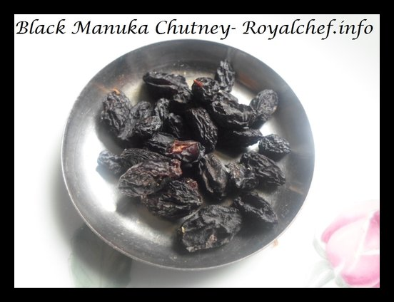 Black Raisin Chutney