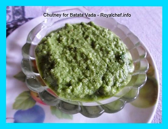 Chutney for Batata Vada