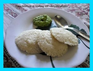 Tasty South Indian Idli-Chutney