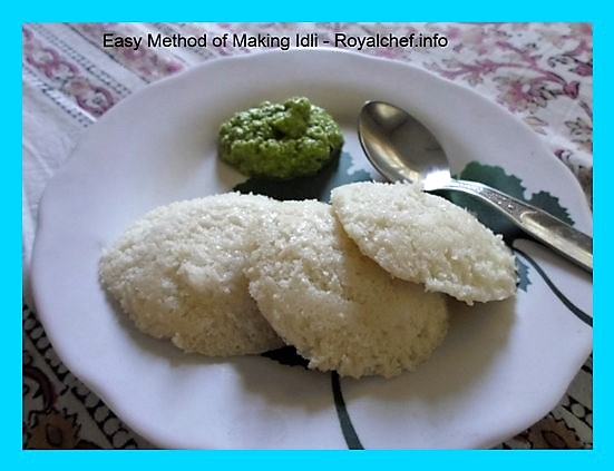 Tasty South Indian Idli-Chutney