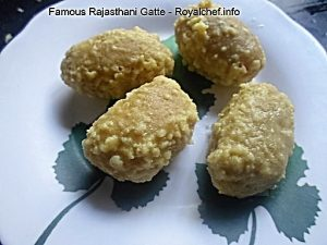 Rajasthani Gatte