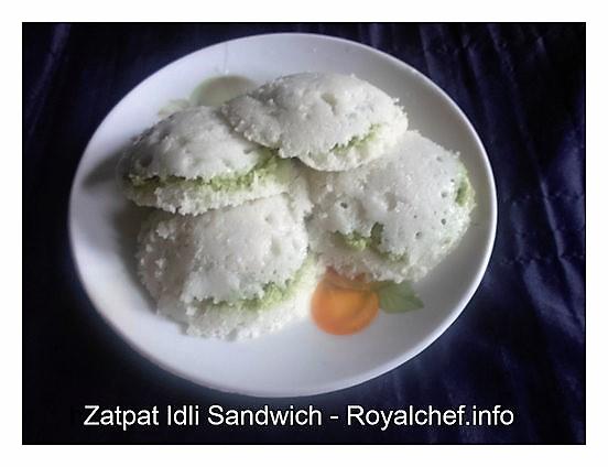 Idli Sandwich