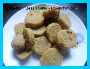 Rajasthani Gram Flour Dumplings