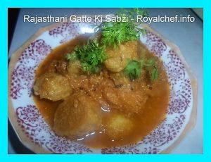 Rajasthani Gram Flour Sabzi