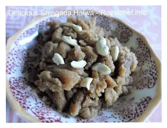 Water Chestnuts Halwa