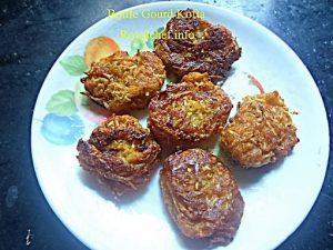Deep Fried Lauki Kofta