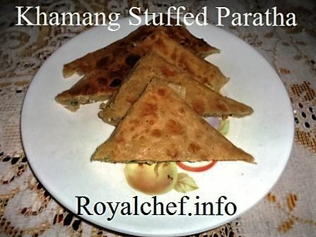 Stuffed Paratha
