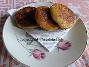 Potato Patties for Veg Burger