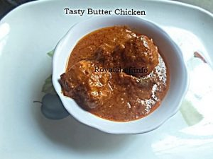 Spicy Butter Chicken