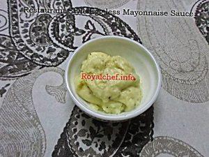 Homemade Mayonnaise Sauce Recipe
