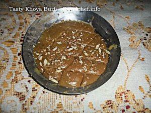 Khoya Burfi