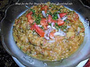 Bhaji for the Pav-Bhaji Biryani