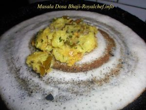 Bhaji for the Masala Dosa