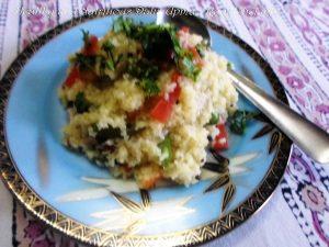 Nutritious Dalia Upma