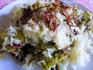 Hirwa Masala Chicken Biryani