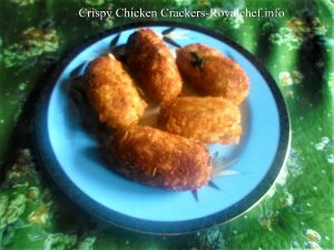 Crispy Chicken Crackers