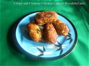 Deep-Fried Chicken Crackers