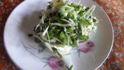 Cabbage Methi Capsicum Salad