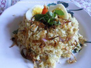 Mutton-Chicken Soup Rice