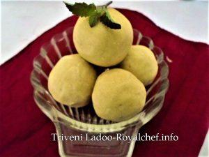 Maharashtrian Triveni Ladoo