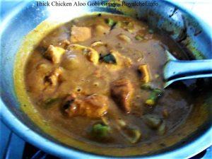 Chicken Cauliflower Potatoes Stew