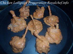Spicy Chicken Lollipops Preparation