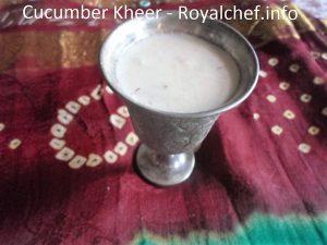 Kakdi Chi Kheer