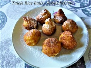 Deep-Fried Rice Balls