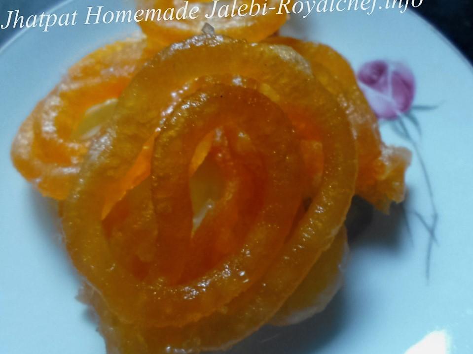 Instant Homemade Jalebi
