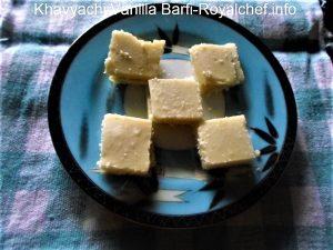 Mawa Vanilla Burfi