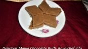 Mawa Chocolate Barfi