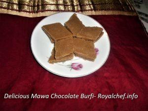 Mawa Chocolate Barfi