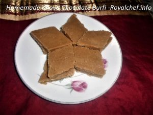 Mawa Chocolate Burfi
