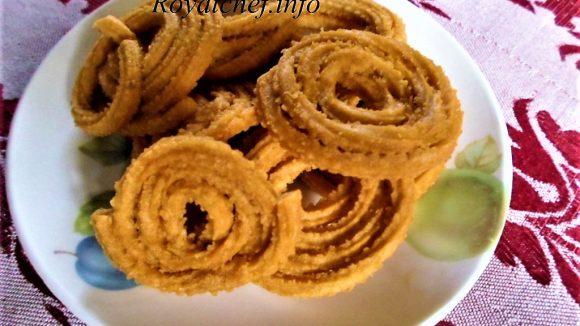 Gram Flour Masala Chakli