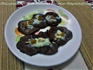 Chocolate Flavored Malpua