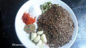 Flax Seeds or Javasachi Chutney