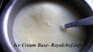 Ice Cream Base for all Ice Creams