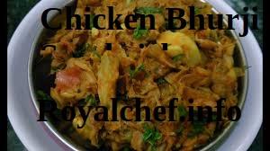Chicken Bhurji Sandwich