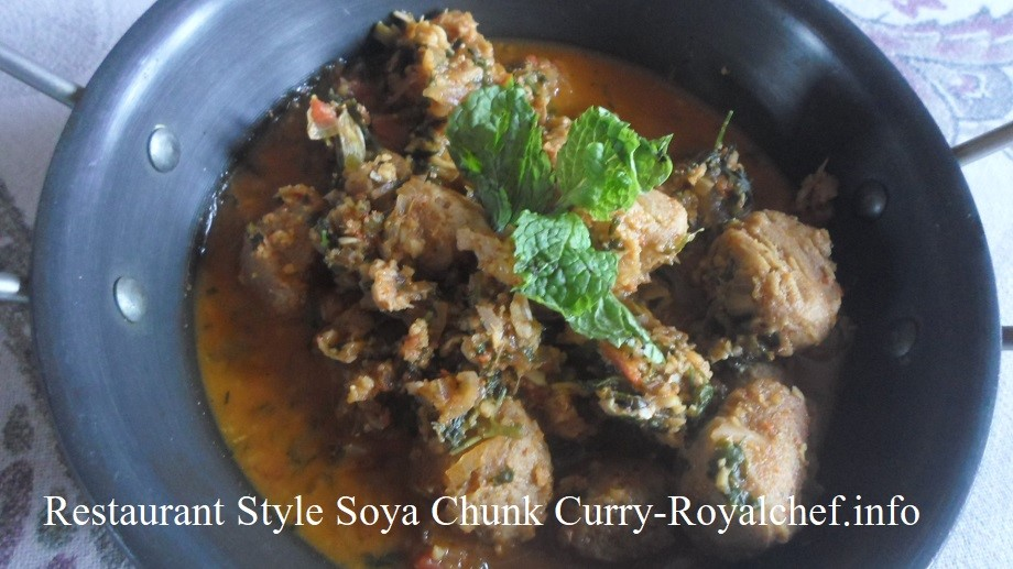 Soya Chunk Curry