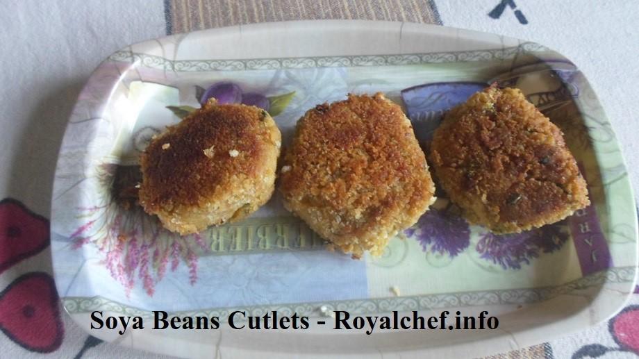 Tasty Soya Beans Cutlets