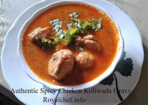 Chicken Koliwada Gravy