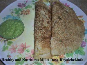 Jowar or Millet Dosa