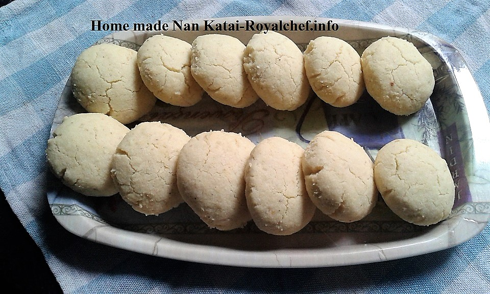 Tasty Delicious Homemade Naan Khatai in Microwave