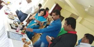 Sakal Cooking Competition Colonnade Housing Society Kharadi Food Display