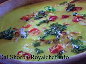 North Indian Dal Shorba